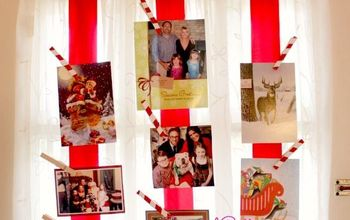 great way to display christmas cards, crafts, painted furniture, seasonal holiday decor, wreaths