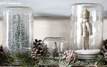 It's Not Too Late for Mason Jar Snow Globes
