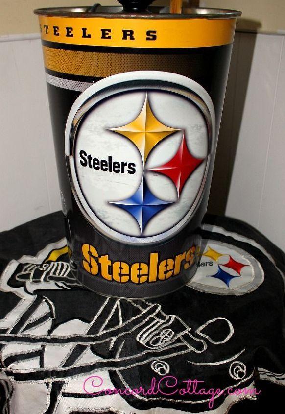 steelers bedroom. pittsburgh steelers football themed tv mancave  basement ideas seasonal holiday decor We put Pittsburgh Steelers Football Themed Tv Room Hometalk
