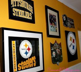 Pittsburgh Steelers Football Themed Tv Mancave, Basement Ideas, Seasonal  Holiday Decor, The Gallery