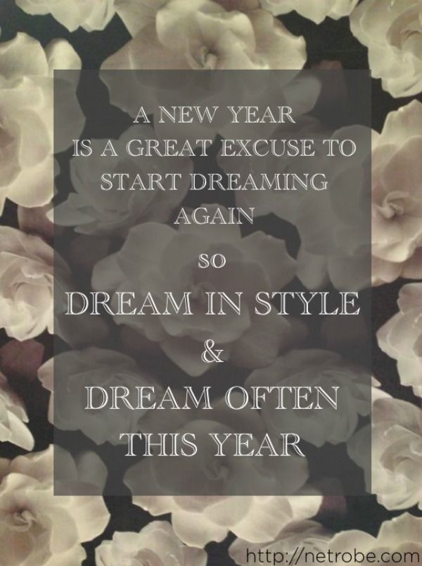 We should all dream a little bigger this year.  Source – Netrobe.com.