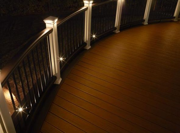 Lights are great to illuminate the deck!