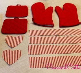 1 store oven mitts pot holders with ruffles crafts kitchen design seasonal holiday