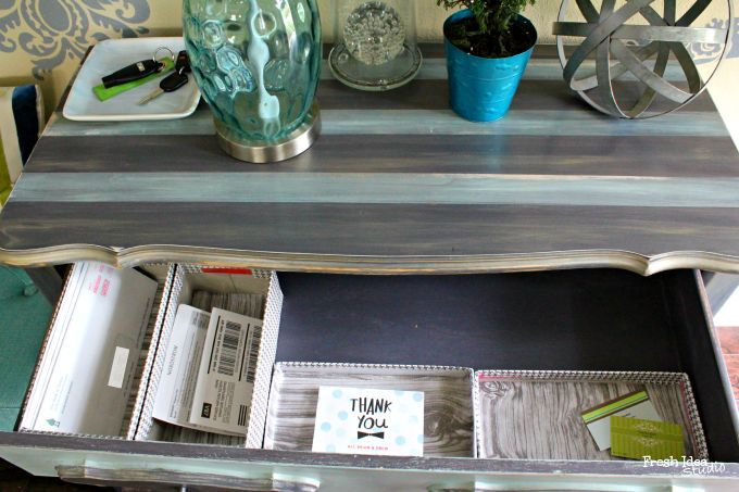 'custom-fit' drawer organizer on the cheap!