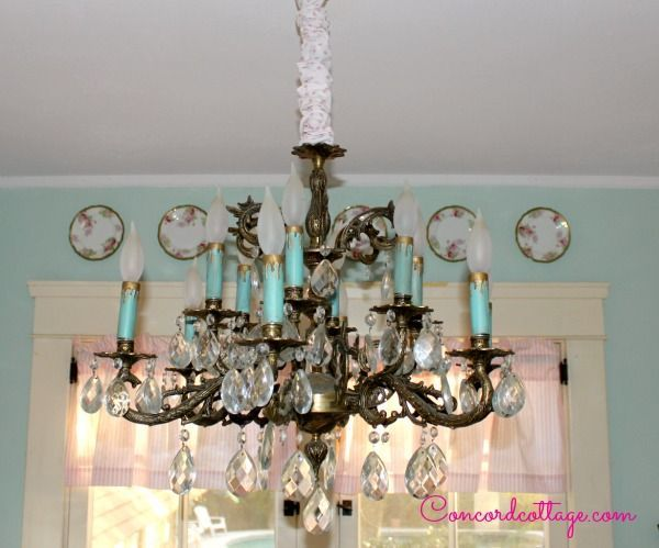 How To Make A Chandelier Chain Cover Crafts Lighting