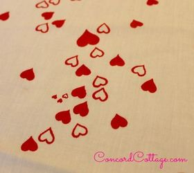Awesome How To Make A Valentines Day Hearts Tablecloth, Crafts, Seasonal Holiday  Decor, Reupholster