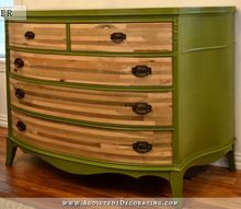 antique credenza makeover, painted furniture, Antique credenza with damaged veneer removed and a new coat of paint