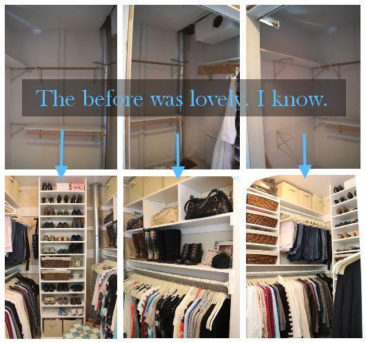 How a Girl Built Her Closet   Hometalk