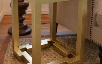 DIY Side Tables With Greek Key Base