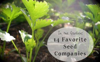 in the garden 14 favorite seed companies, gardening