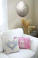 easy not cheesy no sew valentine s day pillow, crafts, seasonal holiday decor, valentines day ideas, Easy No Sew Pillows
