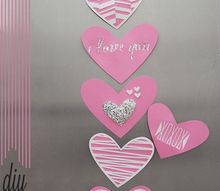 valentinesday refrigerator magnets, crafts, seasonal holiday decor, DIY ValentinesDay Refrigerator Magnets