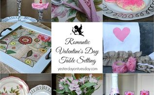 romantic valentine s day table setting valentinesday, seasonal holiday d cor, valentines day ideas, Use a mix of revamped thrift store finds and DIY projects to make a beautiful and romantic DIY table setting