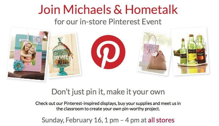 I will be at the Houston Bissonnet store on Feb 16 from 1 pm to 4 pm. Go to my blog post for more details. I would love to meet you in person!!