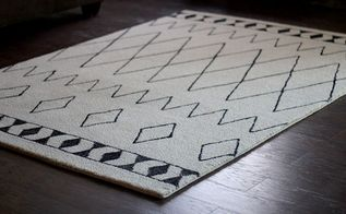 diy sharpie rug a west elm knockoff, crafts, flooring, repurposing upcycling, DIY Sharpie Rug