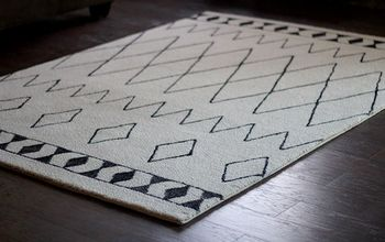 DIY Sharpie Rug, a West Elm Knockoff