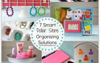 7 Smart Dollar Store Organizing Solutions #organize #springcleaning