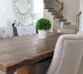 Our Dining Room Table We Made From Reclaimed Wood, Dining Room Ideas, Diy,