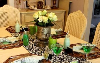 st patrick s day table setting, seasonal holiday d cor, thanksgiving decorations
