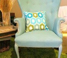 favorite furniture makeover painting upholstery the awesome way, painted furniture, AFTER is updated awesome