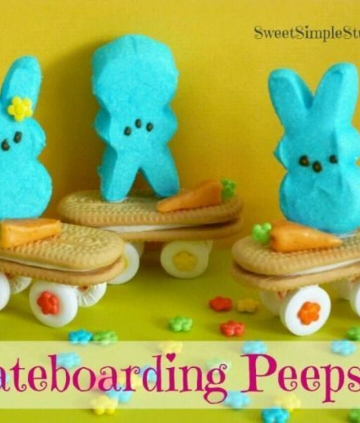 10 great ideas for easter peeps, crafts, easter decorations, seasonal holiday decor