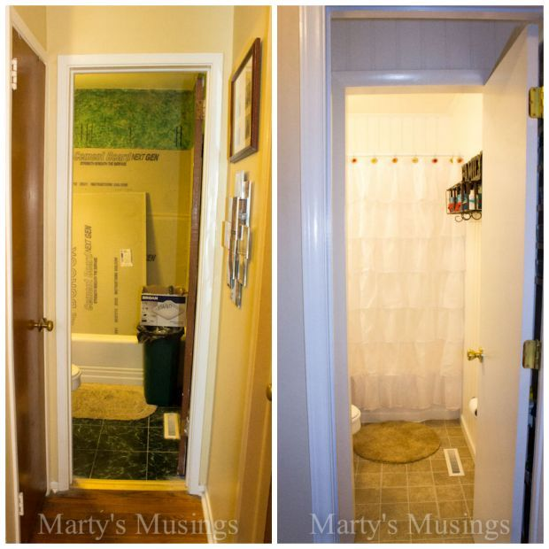 how do you make a small bathroom seem big you remodel it yourselves hometalk