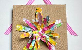 a pretty earthday craft you can make today, crafts, repurposing upcycling, seasonal holiday decor