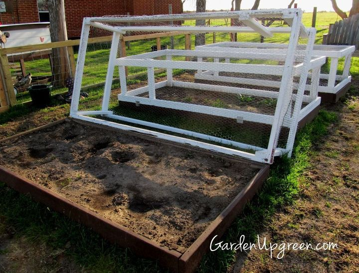 covered raised beds, diy, gardening, raised garden beds, woodworking projects