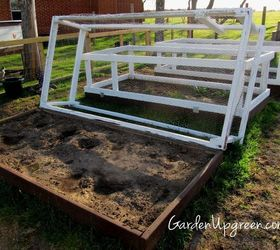 covered raised beds diy gardening raised garden beds woodworking projects
