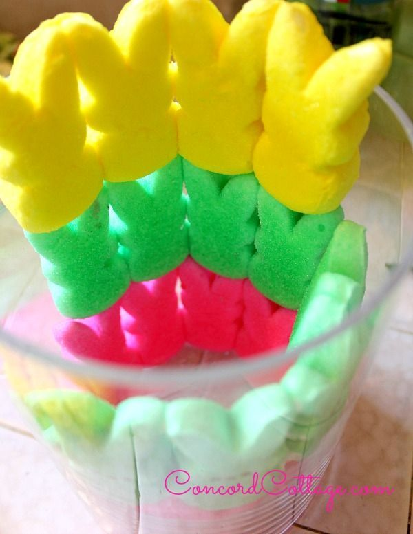 easter peeps floral arrangement, easter decorations, seasonal holiday d cor