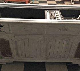 New Life for an Old Stereo Cabinet | Hometalk