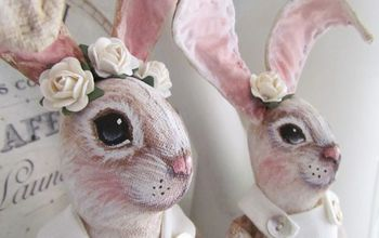 Hand Painted Bunnies for Easter