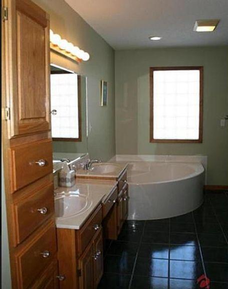 Wood Floors In My Master Bath