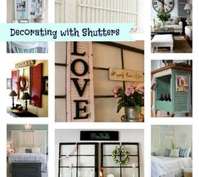 Great Decorating Ideas Part - 30: Today I M Sharing Some Great Decorating Ideas For Shutters, Home Decor,  Living Room Ideas