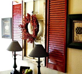 Great Decorating Ideas Part - 40: Today I M Sharing Some Great Decorating Ideas For Shutters, Home Decor,  Living Room Ideas