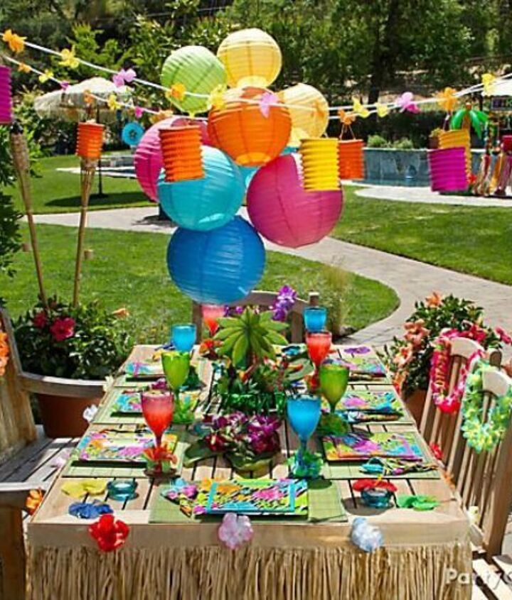 my hubs 50th birthday party, crafts