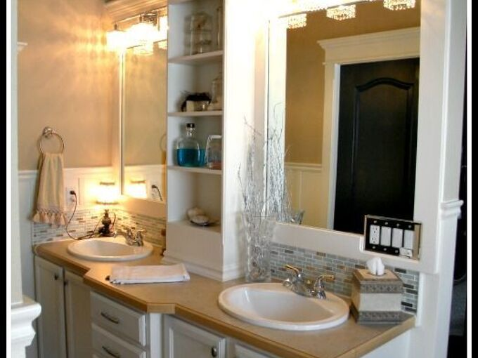 how to frame a builder grade mirror a breakdown of the details, bathroom ideas, diy, paint colors, wall decor, woodworking projects