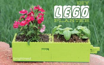 For the Kid in All of Us: DIY LEGO Planter