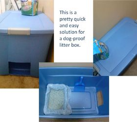 & Easy and Quick Solution for Dog- Proof Litter Box | Hometalk Aboutintivar.Com