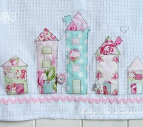 Shabby Tea Towels, Crafts, Shabby Chic