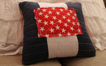 Pottery Barn Inspired Americana Pillow