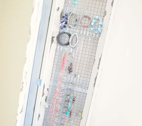 DIY Mirror Hidden Jewelry Organizer Hometalk