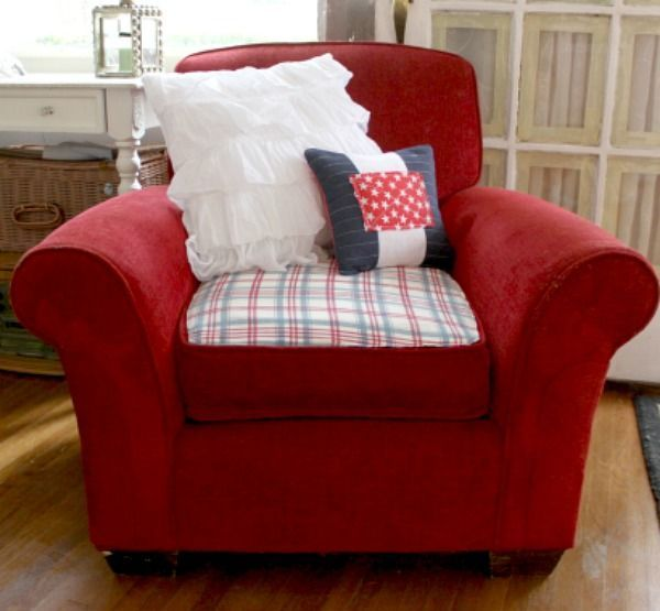 how to repair a cat scratched chair or sofa, painted furniture, repurposing upcycling