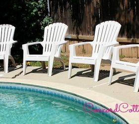 Paint Your Plastic Chairs, Outdoor Furniture, Outdoor Living, Painted  Furniture Part 87