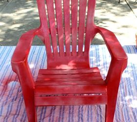 Paint Your Plastic Chairs, Outdoor Furniture, Outdoor Living, Painted  Furniture Part 77