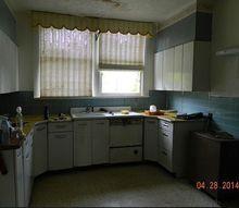 help for this sad kitchen, home decor, home improvement, kitchen design, Little sweet kitchen needs a lot of TLC