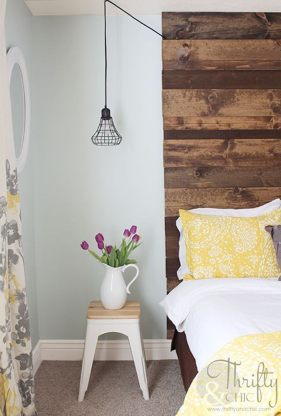 guest room makeover from beige and blah to colorful, bedroom ideas, home decor