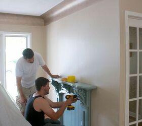 Diy Antique Mantel Becomes Charming Magazine Rack, Home Decor, Living Room  Ideas, Painted