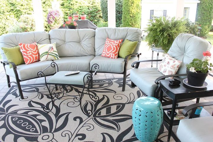 Our Patio is an Outdoor Room That We LOVE! A Chill-Out Space. | Hometalk