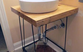 diy a bathroom vanity, bathroom ideas, diy, how to, woodworking projects